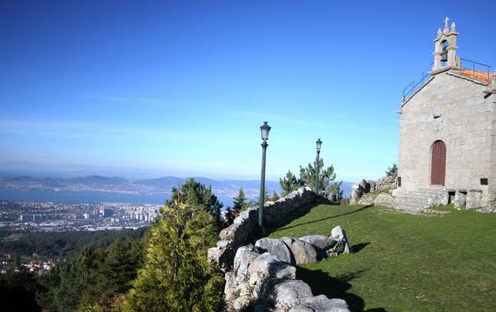Vista da Capela Alba