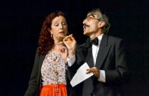 Sofí e Groucho